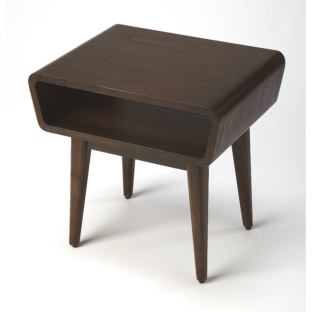 Maryland Storage End Table Dark Brown - Butler Specialty