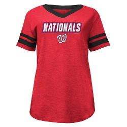 MLB Washington Nationals Women's Pride Heather T-Shirt