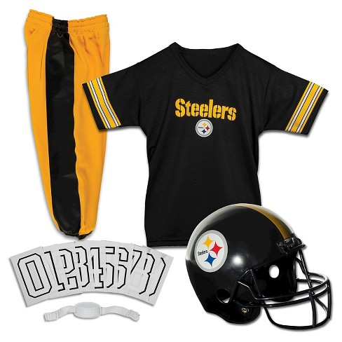 df1ee1753 Franklin Sports NFL Pittsburgh Steelers Deluxe Uniform Set   Target