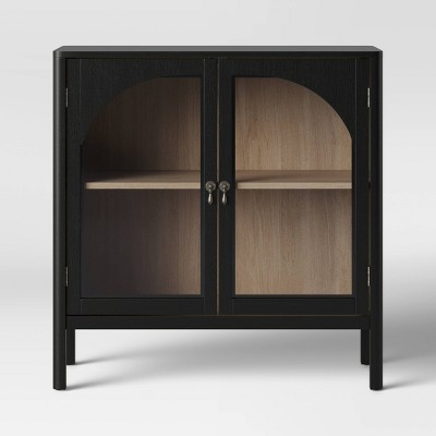New Bedford 2 Door Accent Cabinet Black   Threshold™ by Shop This Collection