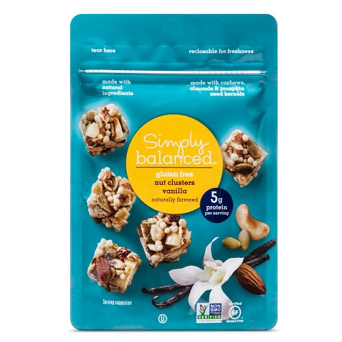 Vanilla Nut Clusters Snack Mixes 3oz - Simply Balanced™ - image 1 of 1