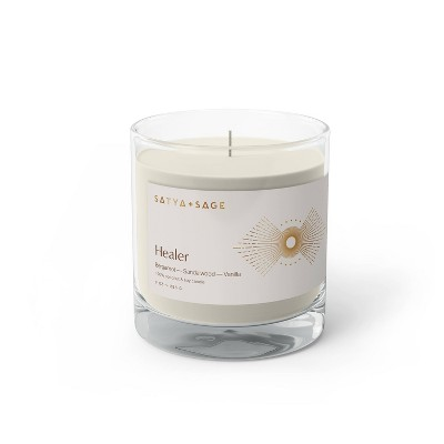 9oz Healer Candle - Satya + Sage