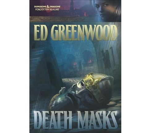 Death Masks (Reprint) (Paperback) (Ed Greenwood) - image 1 of 1