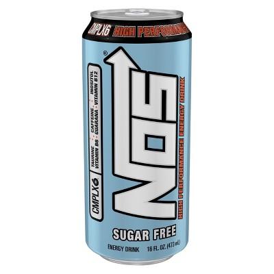 Energy & Sports Drinks: NOS Sugar Free