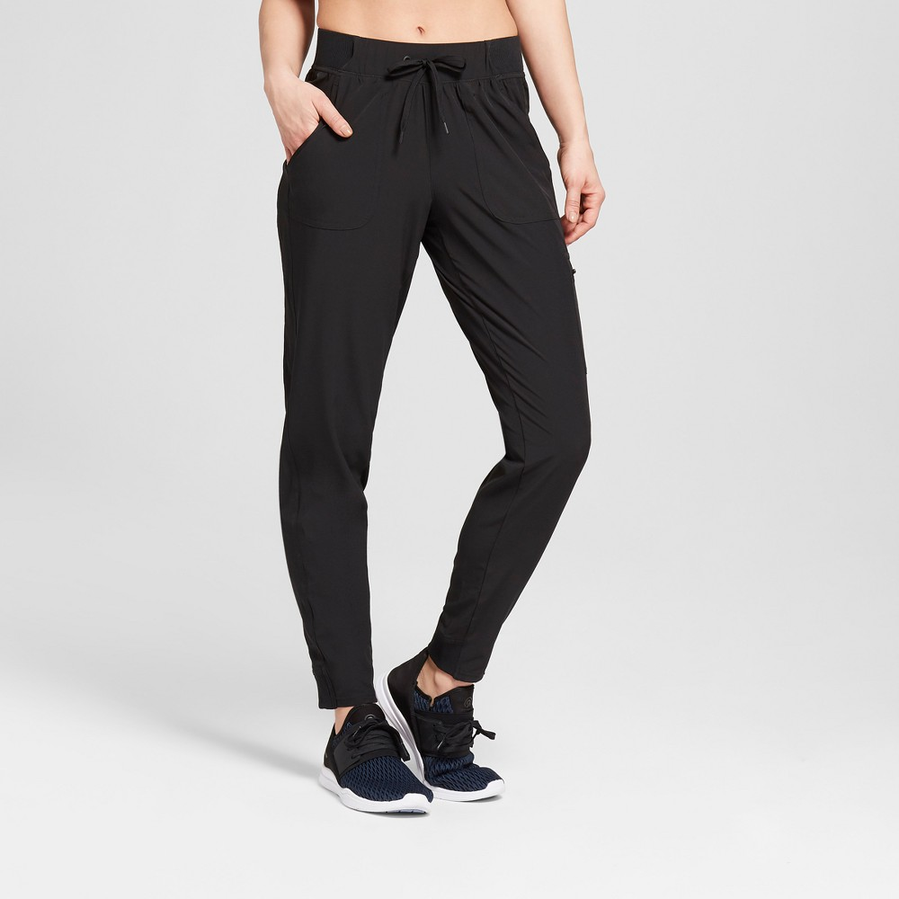Women's Woven Train Mid-Rise Pants 29 - C9 Champion Black XL