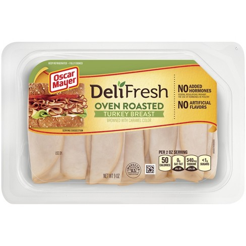 Oscar Mayer Deli Fresh Oven Roasted Turkey Breast 9 oz - image 1 of 3