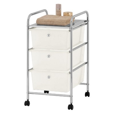 Project 101 3 Tier Storage Cart White