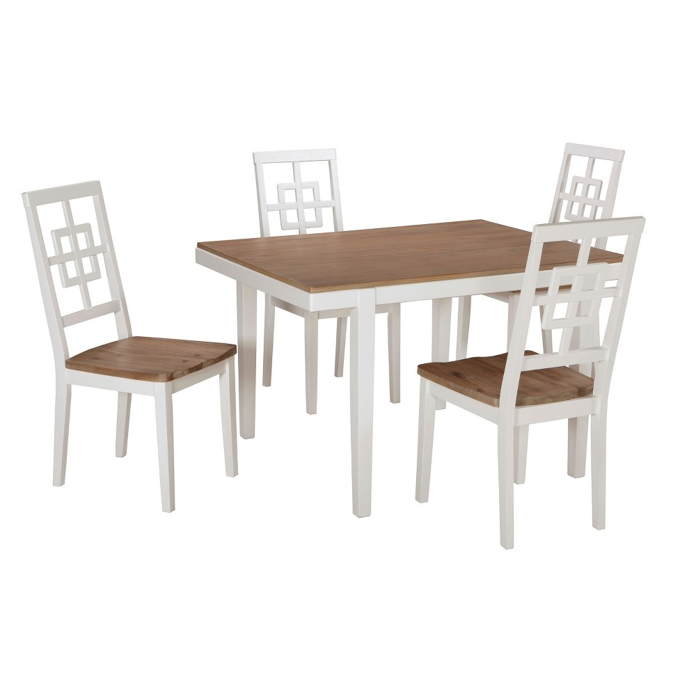 Dining Table Set Sand (Brown) - Signature Design by Ashley