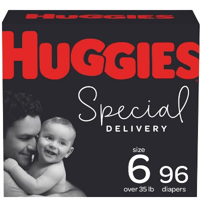 Huggies Special Delivery Hypoallergenic Baby Diapers – (Select Size and Count)