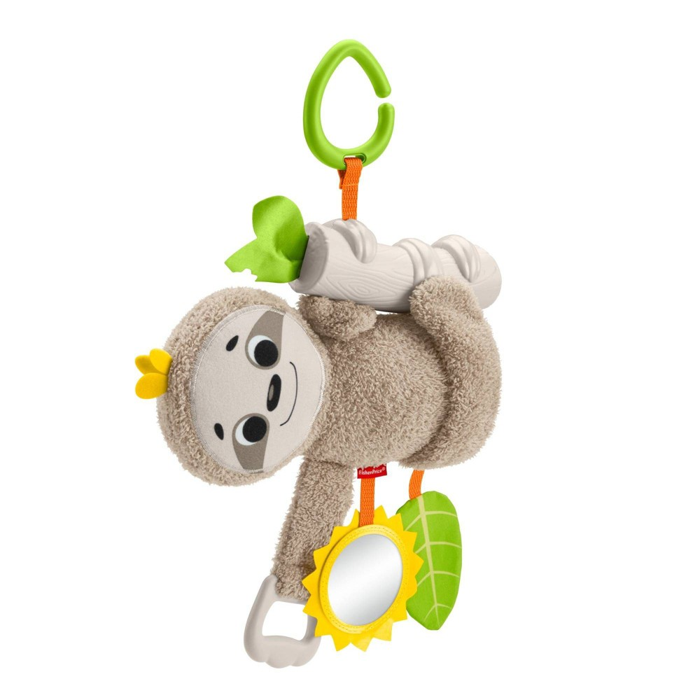 Image of Fisher-Price Slow Much Fun Stroller - Sloth