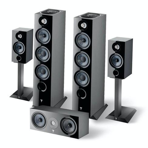 Focal Chora Speaker System with 806ST Speaker Stands (Black) - image 1 of 4