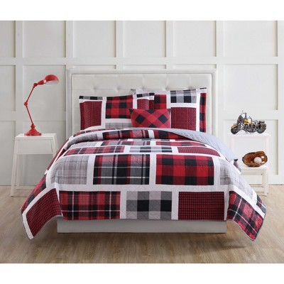 Buffalo Plaid Quilt Set - My World