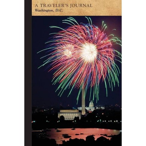 Washington, D.C.: A Traveler's Journal - (Travel Journal) by  Applewood Books (Paperback) - image 1 of 1