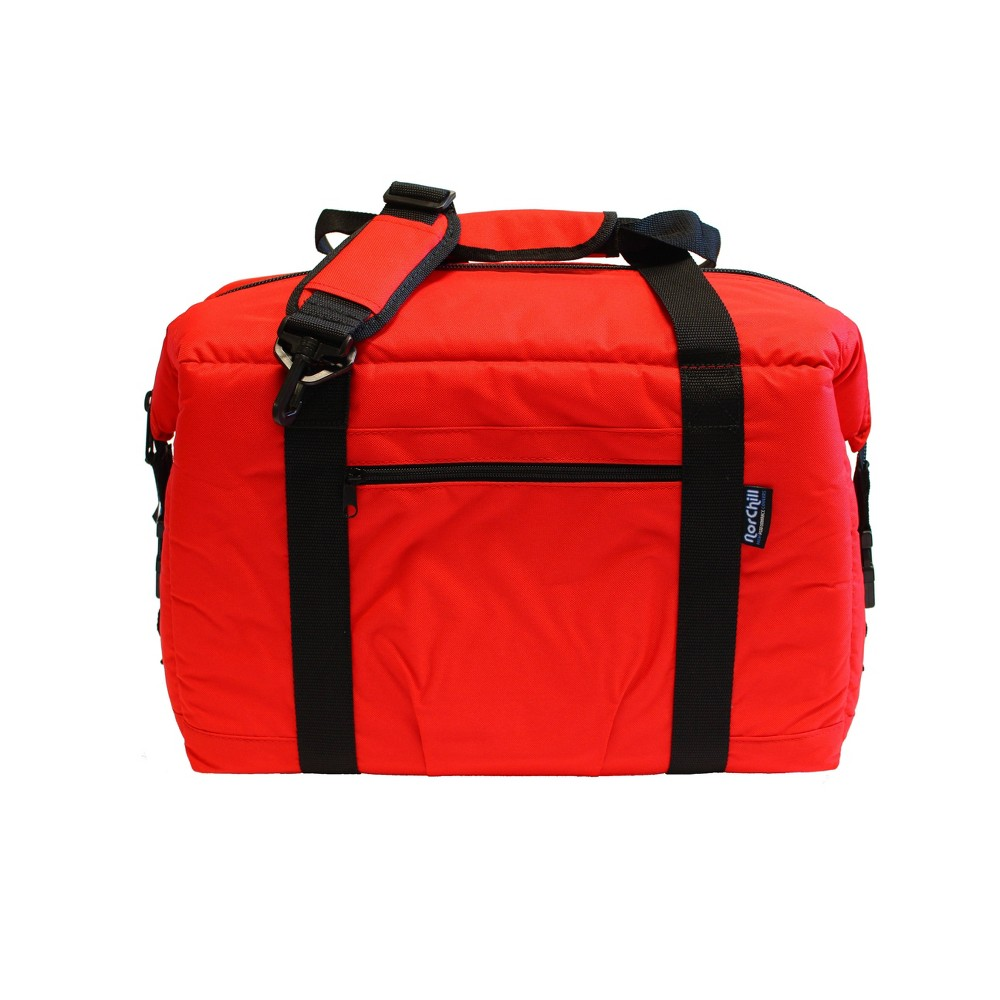 Image of NorChill 24 Can Cooler Bag - Red