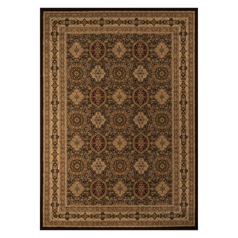 2'X3'3 Holly Loomed Accent Rug Brown - Momeni