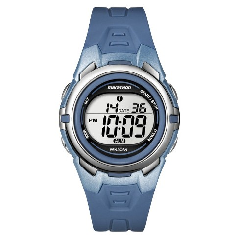 Women's Marathon®  by Timex Digital Watch -  Blue T5K362TG - image 1 of 1