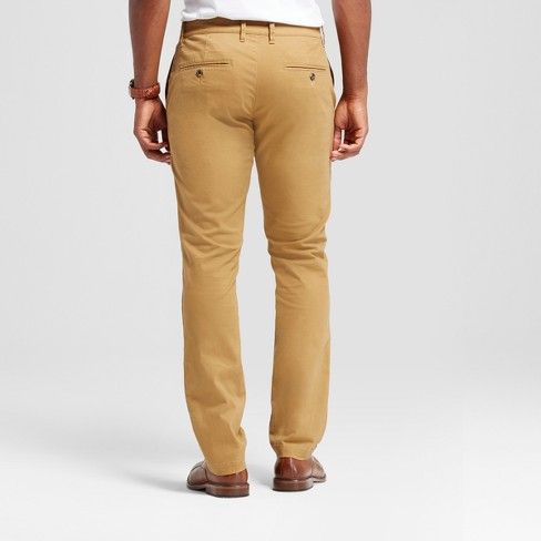 49882783fb Men's Athletic Fit Hennepin Chino Pants - Goodfellow & Co™ Light Brown