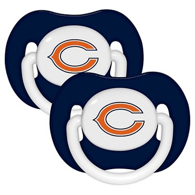 Chicago Bears Baby Fanatic Pacifiers - 2 Pack