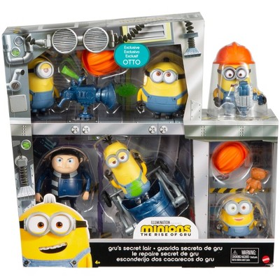 Minions: The Rise of Gru Gru's Secret Lair Figure Pk
