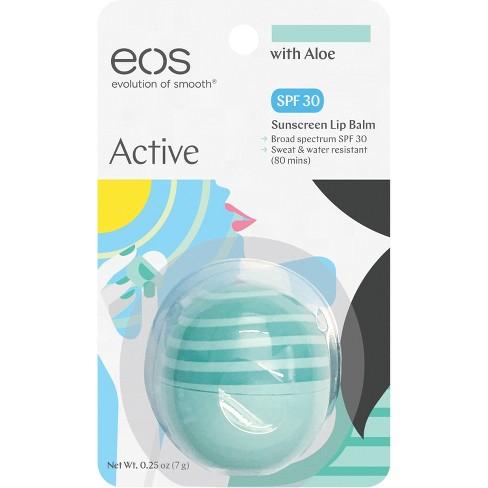 eos Active Organic Lip Balm with Aloe - SPF30 - 0.25oz - image 1 of 5