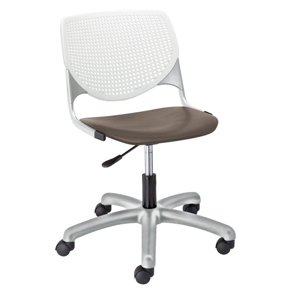 Compare Kool Poly Task Chair Brownstone - KFI