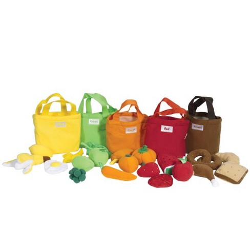 Creative Minds Pretend Play Fruit and Food Bags - image 1 of 2