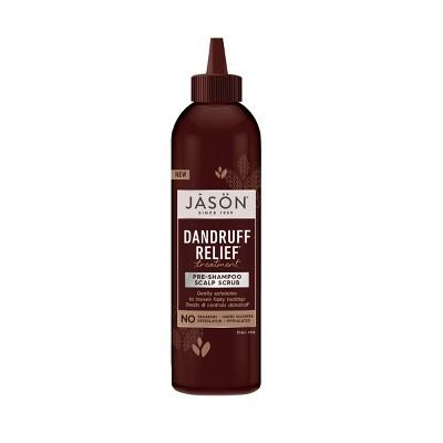 JASON Dandruff Relief Pre-Shampoo Scalp Scrub - 6 fl oz