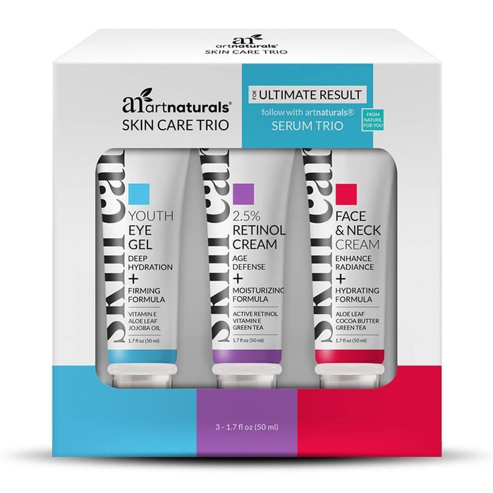 Image of artnaturals Skin Care Trio - 3ct/1.7 fl oz Each