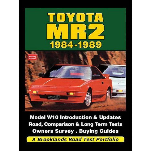 Toyota Mr2 1984-1989 - (Road Test Portfolio) (Paperback) - image 1 of 1