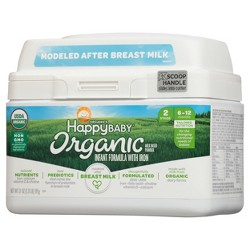 Happy Baby Stage 2 Infant Formula with Iron - 21oz