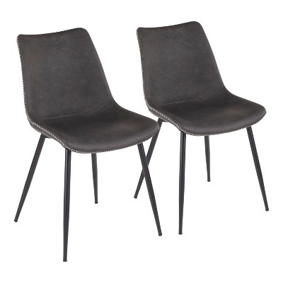 Set of 2 Durango Industrial Dining Chair - LumiSource
