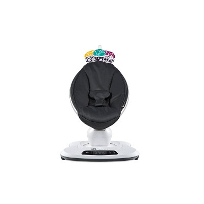4moms mamaRoo4 Bluetooth Enabled High-Tech Baby Swing - Black