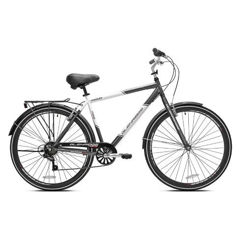 Kent Glenridge Men S 28 700c Hybrid Bike Gray White