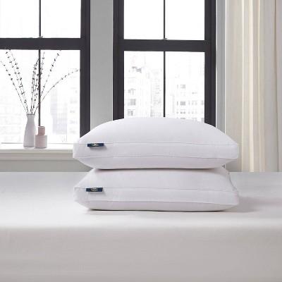 Serta Cotton Blend European Down Firm Bed Pillow