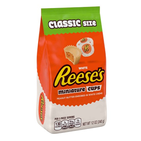 Reese's Miniature White Peanut Butter Cups - 12oz - image 1 of 4