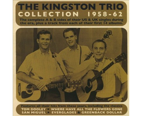 Kingston Trio - Collection:1958-1962 (CD) - image 1 of 1