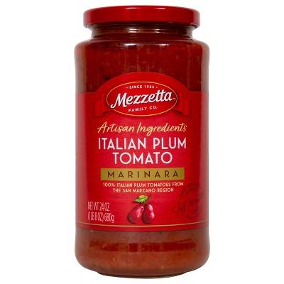 Mezzetta Italian Plum Tomato Marinara - 25oz