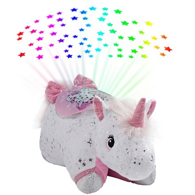 Glittery Unicorn Sleeptime Lite Portable LED Light - Pillow Pets