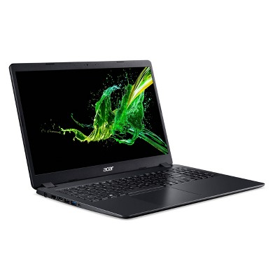 "Acer 15.6"" Windows 10 Home Laptop, 8GB Memory, 256 SSD Storage, Intel Core i5 10th Gen Processor, Black (A315-56-53E3)"