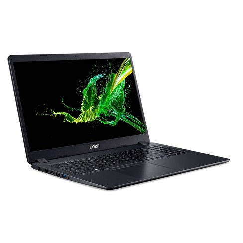 "Acer 15.6"" Windows 10 Home in S Mode Laptop, 8GB Memory, 256 SSD Storage, Intel Core i5 10th Gen Processor, Black (A315-56-53E3) - image 1 of 4"