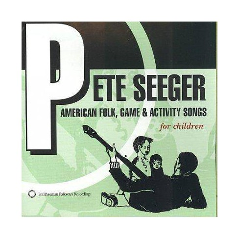 Pete Seeger - American Folk Game & Activity Songs (CD) - image 1 of 4