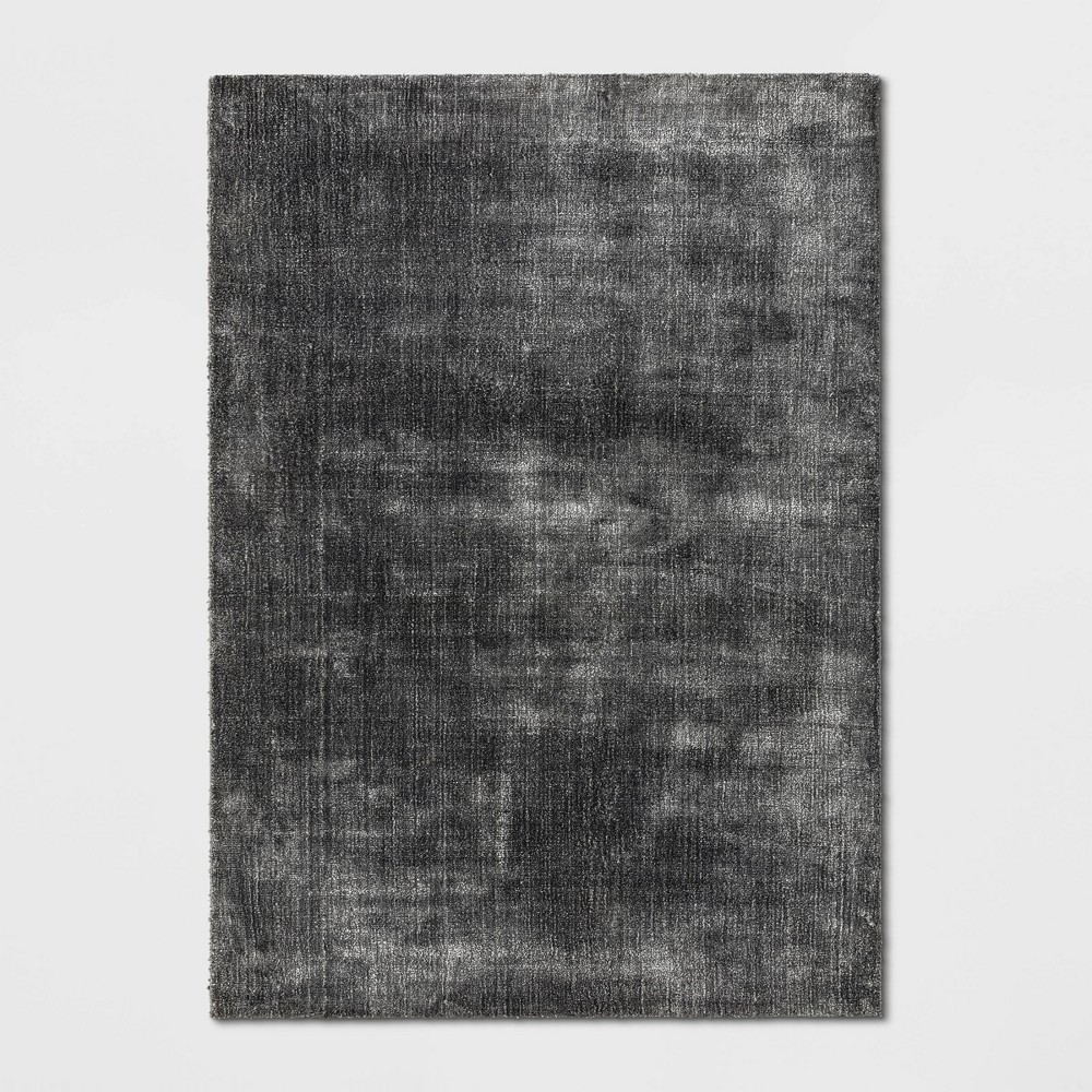 5'X7' Hayes Woven Cut Pile Poly Rug Gray - Project 62 was $179.99 now $89.99 (50.0% off)