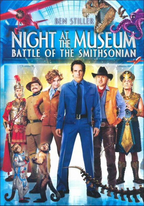 Dvd Night At The Museum Battle Of The Smithsonian