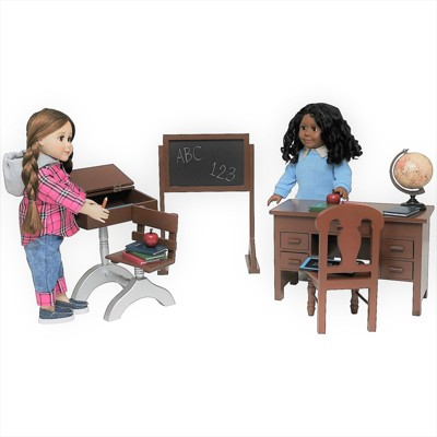 The Queen's Treasures 18 In Doll 1930's Classroom  Furniture & Accessories