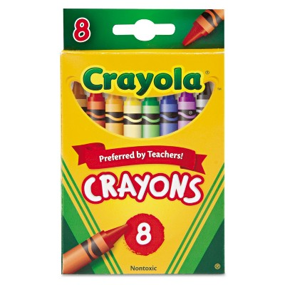 Crayola Classic Color Pack Crayons 8 Colors/Box 523008
