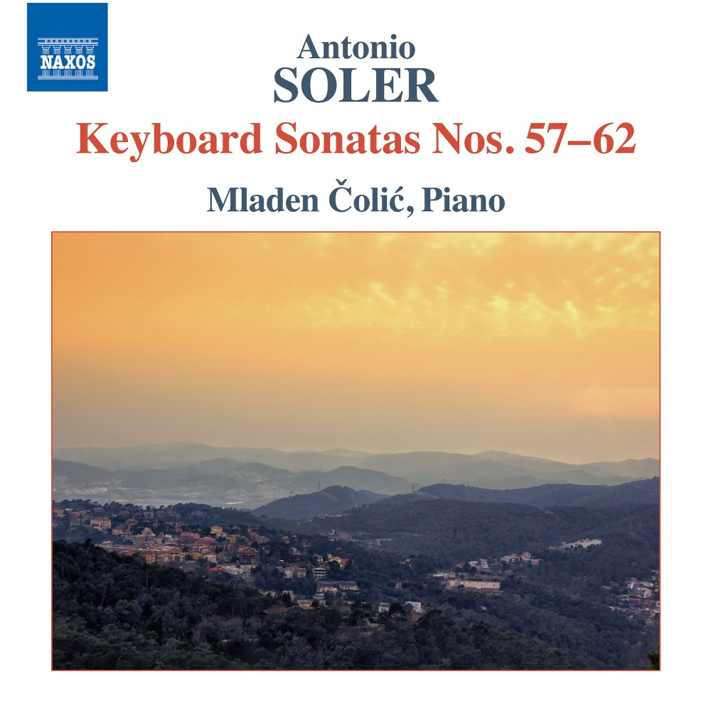 Mladen Colic - Soler:Keyboard Sons Nos 57-62 (CD)