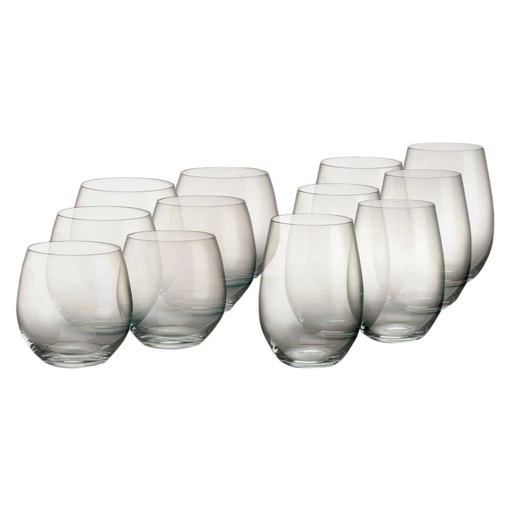 Image of Marquis by Waterford Crystal 8oz 12pk Vintage Stemless Wine Glasses