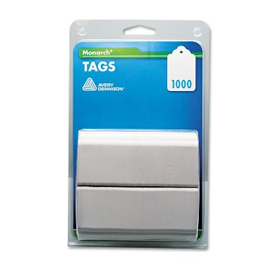 Monarch Refill Tags 1 1/4 x 1 1/2 White 1 000/Pack 925047