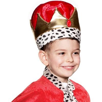 Underwraps Crown Children's Costume OS