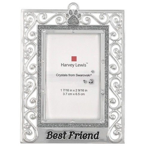 Harvey Lewis Best Friends Frame Ornament with Crystals from ...